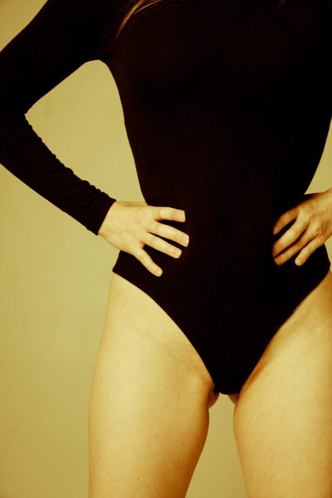 sensuality of woman body
